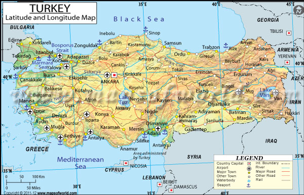 Maps istanbul the fascinating city latitude and longitude map gumiabroncs Image collections